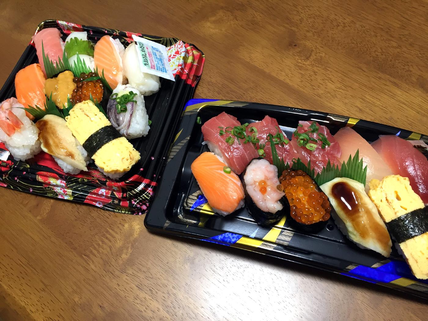売れ残りの寿司